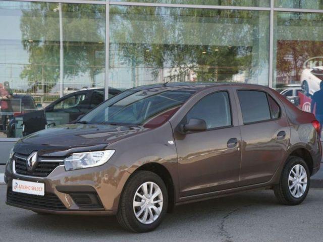 Купить б/у Renault Logan, 2020 год, 82 л.с. в России